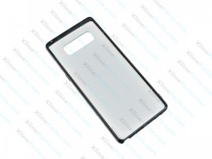 Back Case Samsung Galaxy Note 8 N950 clear Hard Case black