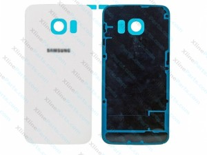 Back Battery Cover Samsung Galaxy S6 Edge G925 white