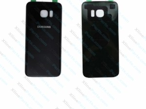 Back Battery Cover Samsung S7 Galaxy Edge G935 black