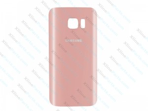 Back Battery Cover Samsung Galaxy S7 G930 pink gold