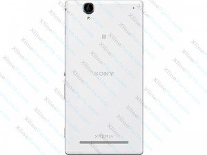 Back Cover Sony Xperia T2 Ultra XM50H white