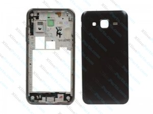 Back Battery Cover with Frame Samsung Galaxy J5 J500 black