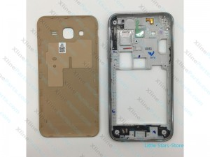 Back Cover with Frame Samsung Galaxy j5 j500 gold