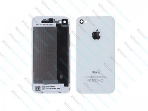 Back Battery Cover Apple iPhone 4G white