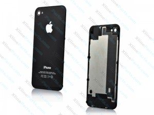 Back Battery Cover Apple iPhone 4S black