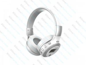 Bluetooth Headset Zealot B19 with Display (Universal) white