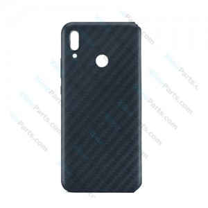 Silicone Case Carbon Huawei P20 Lite gray