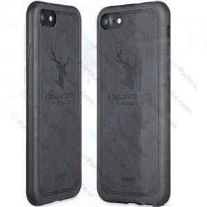 Silicone Case Deer Apple iPhone 7/8 black