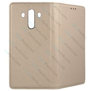 Flip Case Magnetic Huawei Mate 10 Pro gold