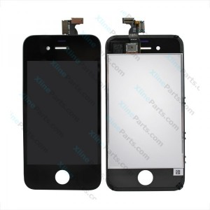 LCD with Touch Apple iPhone 4S black OCG