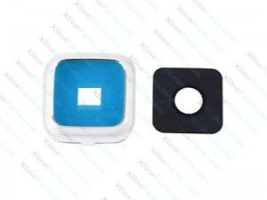 Camera Cover and Glass Lens Samsung Galaxy Note 4 N910 white