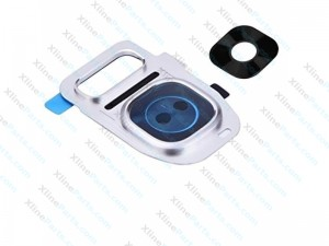 Camera Cover and Glass Lens Samsung Galaxy S7/S7 Edge G935 white