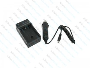 Car Battery Charger+Car Charger SONY BN1 NP-BN1