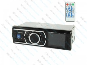 Car MP3 Player with Remote Control 4 X 50W Support SD, USB Flash Disk, FM, AUX IN 6203