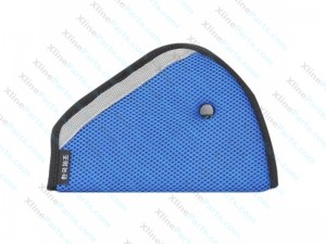 Car Safetly Belt Adjuster for Children 24cm X 16.5cm blue