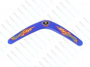Classic V Style Flying Boomerang Outdoor Interesting Flying Toy blue