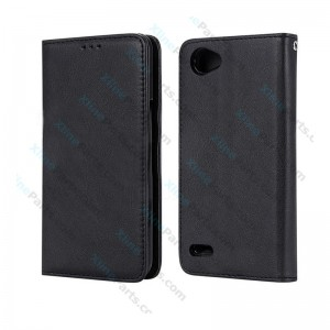 Flip Case Magnetic LG Q6 black