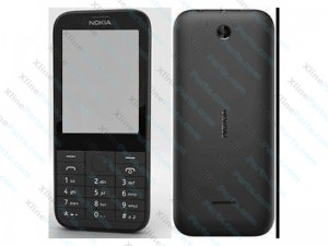 Cover Complete Nokia 225 Black