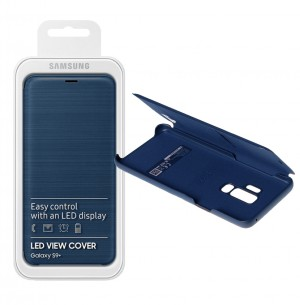 Flip Case Samsung Galaxy S9 Plus G965 LED View blue (Original)