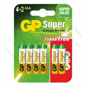 Battery Super Alkaline GP AAA (LR03)