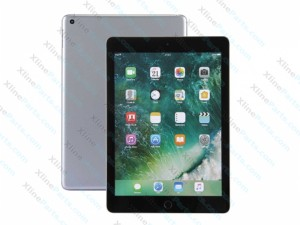 Dummy Apple iPad 9.7 Inch (2017) grey & black