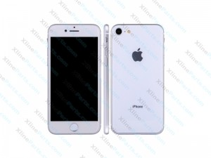 Dummy Mobile Phone Apple iPhone 8 silver white