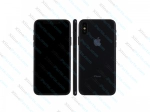 Dummy Mobile Phone Apple iPhone X black