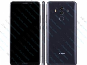 Dummy Mobile Phone Huawei Mate 10 Pro grey