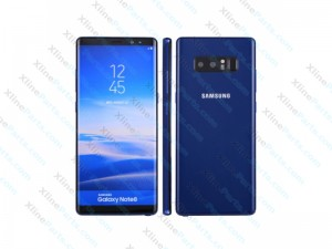 Dummy Mobile Phone Samsung Galaxy Note 8 N950 blue