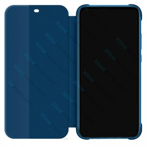 Flip Case Smart View Huawei P20 Lite blue (Original)
