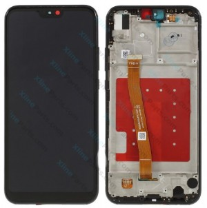 LCD with Touch and Frame Huawei P20 Lite black OCG