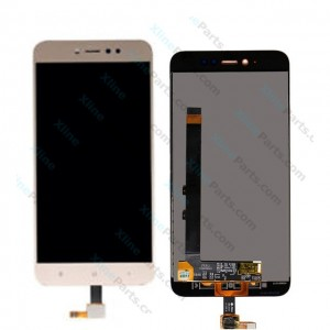 LCD with Touch Xiaomi Redmi Y1 (Note 5A) gold OCG*