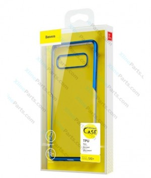 Silicone Case Baseus Samsung Galaxy S10 Plus G975 blue