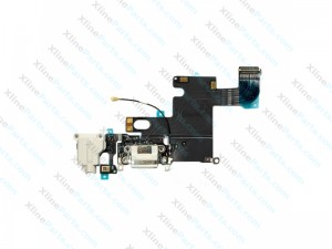 Flex Connector Charging Port and Headphone Jack / Mic Apple iPhone 6G white