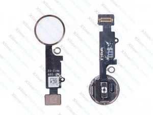Flex Home Button Complete Apple iPhone 7 gold