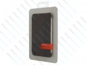 Flip Case S View Huawei P10 dark grey (Original)
