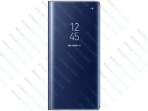 Flip Case Samsung Galaxy Note 8 N950 Clear View Standing blue (Original)