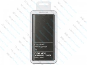 Flip Case Samsung Galaxy Note 8 N950 Clear View Standing gray (Original)
