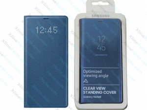 Flip Case Samsung Galaxy Note 8 N950 LED View Cover deep blue (Original)