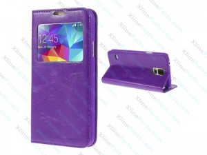 Flip Case Samsung Galaxy S6 Edge Plus G928 violet