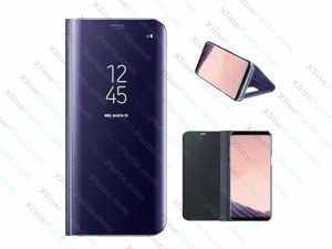 Flip Case Samsung Galaxy S8 Plus G955 Clear View Standing blue (Original)