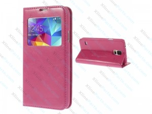 Flip Case Samsung Galaxy S5 Mini G800 pink
