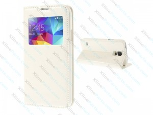 Flip Case Samsung Galaxy S5 Mini G800 white