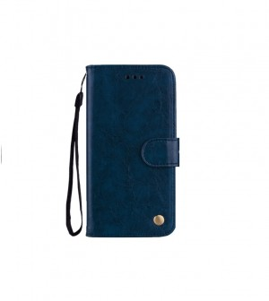 Flip Case Leather Huawei P10 Lite blue
