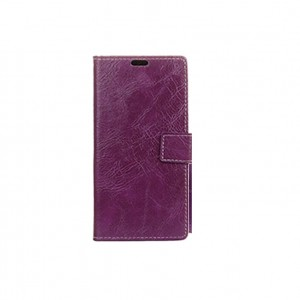 Flip Case Leather LG Q6 purple
