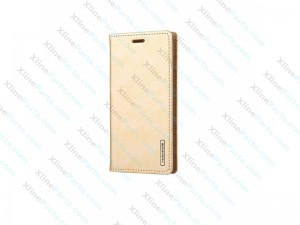 Flip Case Leather LG G6 gold