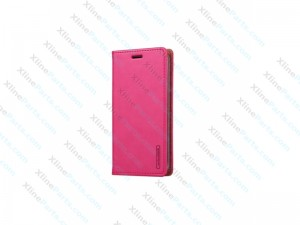 Flip Case Leather LG G6 magenta