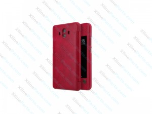 Flip Case Leather Huawei Mate 10 Pro red