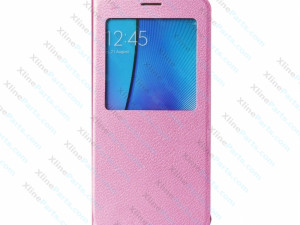 Flip Case Leather Samsung Galaxy Note 5 N920 pink