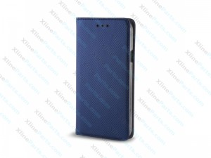 Flip Case Magnetic LG K8 (2017) dark blue